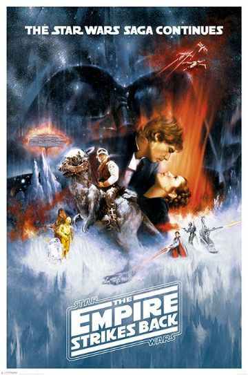 Star Wars Episode V Maxi Poster. The Empire Strikes Back. New